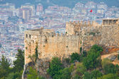 View from the Inner Castle (Ic Kale), Alanya, Turkey — Stock Photo