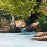 View of Manavgat waterfall in Turkey — Stock Photo #14318255