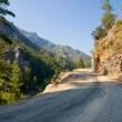 Image of the road near Alanya in Taurus Mountains, Turkey - Foto Stock