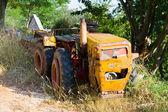 Vintage old tractor, Croatia — Stock Photo