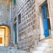 Narrow stone street of Rovinj, Croatia — Stock Photo #14665967