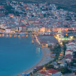 Night view, Pag, Croatia — Stock Photo