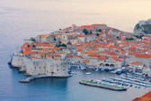 The Old Town of Dubrovnik in the evening, Croatia — Stock Photo