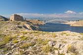 Puente, isla de pag, croacia — Foto de Stock
