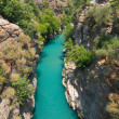 Rafting in the green canyon, Alanya, Turkey — Stock Photo #16683641