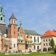 Wawel Cathedral, The Cathedral Basilica of Sts. Stanislaw and Va - Stockfoto