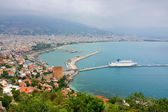 Kizil Kule (Red Tower), Alanya, Turkey — Stock Photo