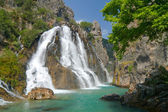 Alara Ucansu Selalesi, Waterfall, Turkey — Stock Photo