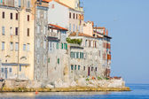 Old town architecture of Rovinj, Croatia. Istria touristic attra — Stock Photo