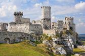 Ogrodzieniec Castle, Poland. — Stock Photo