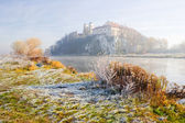 Benedictine abbey in Tyniec, Cracow. Famous Polish landmark — Stock Photo