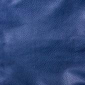 Shiny black leather background close up — Stock Photo