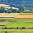 Polish countryside landscape - Stock Photo