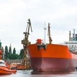 Shipyard, Gdansk, Poland — Stock Photo #17360819