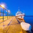 Small pleasure boat — Stock Photo