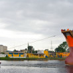 Shipyard, Gdansk, Poland — Stock Photo #17361243