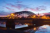 Pilsudzki bridge in the early morning, Krakow, Poland — Stock Photo