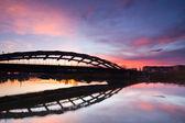 Kotlarski Bridge, Cracow, Poland — Stock Photo