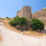 Kritinia castle, Rhodes island, Greece — Stock Photo #18155127