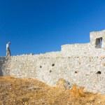 Kritinia castle, Rhodes island, Greece — Stock Photo #18155881