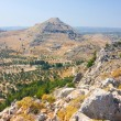 Panoramic view of Rhodes mountain. Rhodes island. Greece. — Foto Stock