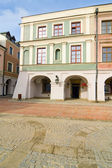 Town Hall, Main Square (Rynek Wielki), Zamosc, Poland — Stock Photo