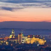 Nattliv i krakow, Polen — Stockfoto