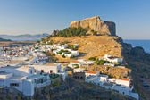 Lindos, Rhodes, Greece — Stock Photo