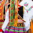 Ethnic costumes — Stock Photo