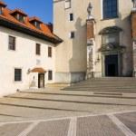 Benedictine monastery in Tyniec - Poland. — Stock Photo #19278285