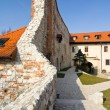 Benedictine monastery in Tyniec - Poland.  — Stock Photo