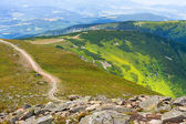 Babia Gora mountain, Poland — Stock Photo