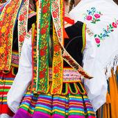 Ethnic costumes — Stock Photo