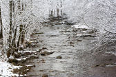 Winter mountains landscape — Stock Photo