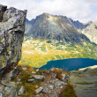 Royalty-Free Stock Photo: Summer in 5 lakes valley in High Tatra Mountains