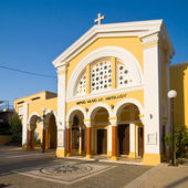 Church, Rhodes island, Greece — Stock Photo