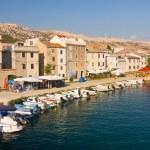 Pag, paesaggi in Croazia — Foto Stock