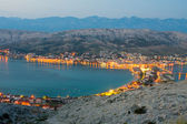 Pag, landscapes in Croatia — Stock Photo