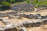 Kamiros, Ancient ruins, Rhodes — 图库照片