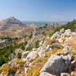 Panoramic view of Rhodes mountain. Rhodes island. Greece. — Stock Photo #21641025