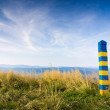 Poland Ukraine border — Stock Photo