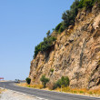 Road near Alanya in Taurus Mountains, Turkey - Stock Photo