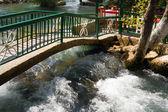 Wasserfall manavgat türkei - natur-reisen-hintergrund — Stockfoto