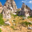 Stock Photo: Ortahisar cave city in Capapdocia, Turkey