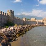 Maumere fortress and sea near Anamur, Turkey — Stock Photo