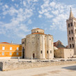 Church of st. Donat, a monumental building from the 9th century in Zadar, Croatia — Stock Photo #22658803