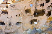 Starověké jeskyně města, kappadokie, turecko — Stock fotografie
