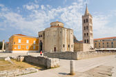 Church of st. Donat, a monumental building from the 9th century in Zadar, Croatia — Stock Photo
