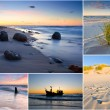 Baltic Sea, Poland, collage — Stock Photo #23743369