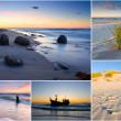 Baltic Sea, Poland, collage — Stock Photo #23743369